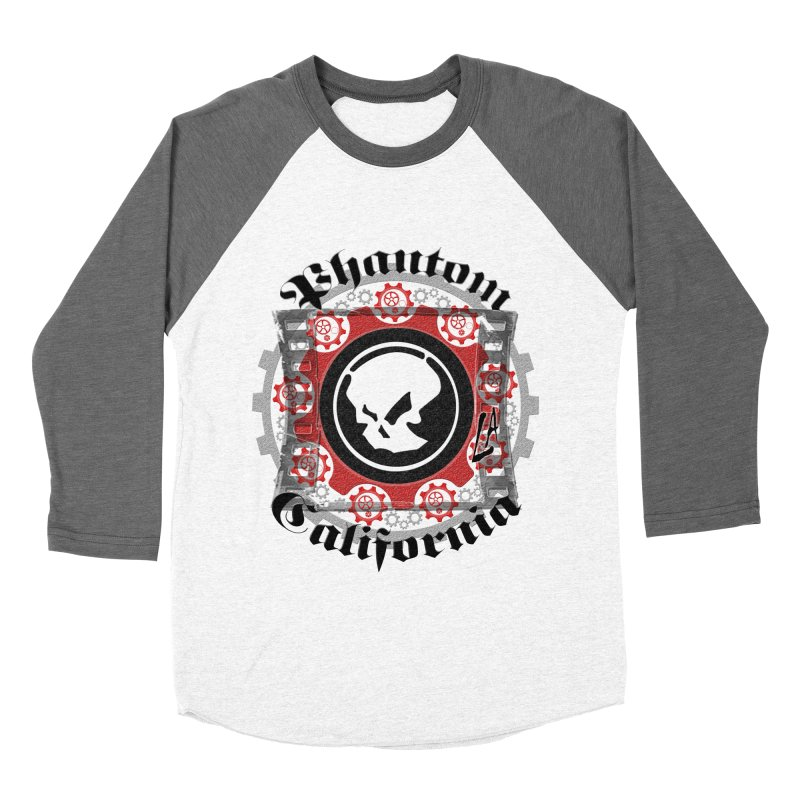 Phantom California LA (original) Men's Baseball Triblend Longsleeve T-Shirt by phantom's Artist Shop