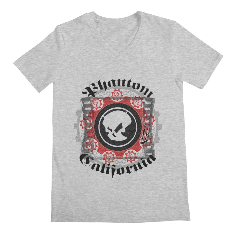 Phantom California LA (original) Men's V-Neck by phantom's Artist Shop