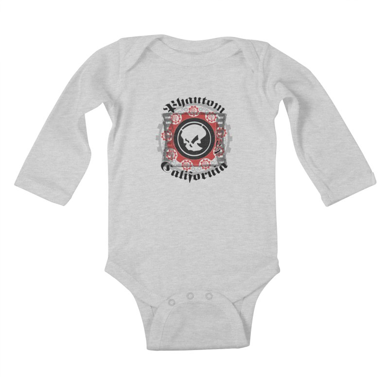 Phantom California LA (original) Kids Baby Longsleeve Bodysuit by phantom's Artist Shop