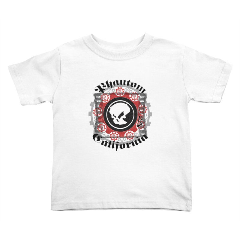 Phantom California LA (original) Kids Toddler T-Shirt by phantom's Artist Shop