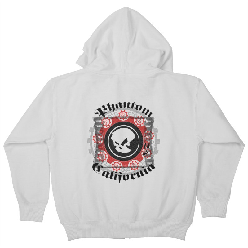Phantom California LA (original) Kids Zip-Up Hoody by phantom's Artist Shop
