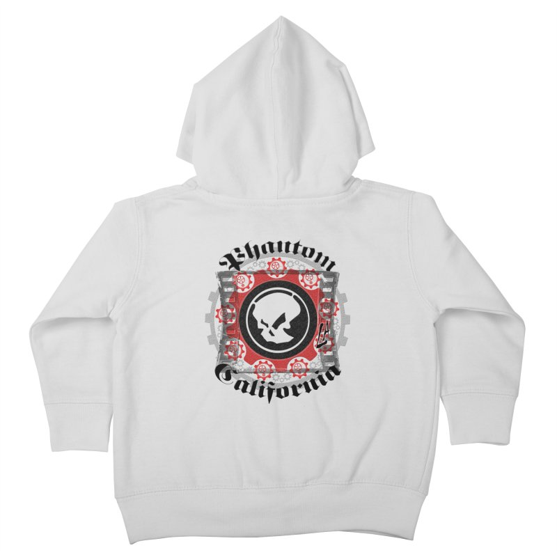 Phantom California LA (original) Kids Toddler Zip-Up Hoody by phantom's Artist Shop