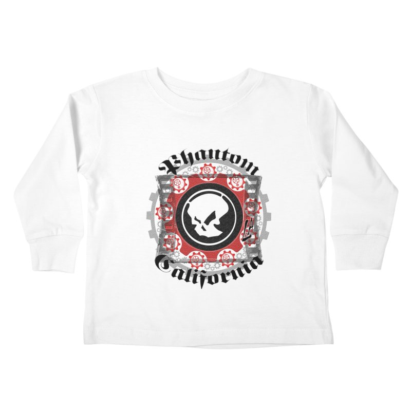 Phantom California LA (original) Kids Toddler Longsleeve T-Shirt by phantom's Artist Shop