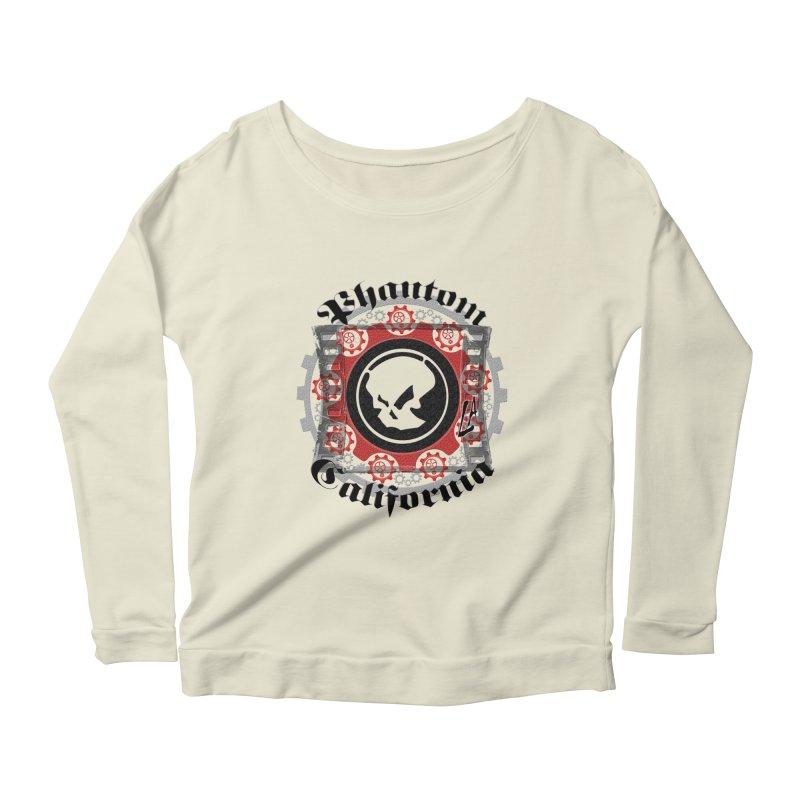 Phantom California LA (original) Women's Scoop Neck Longsleeve T-Shirt by phantom's Artist Shop