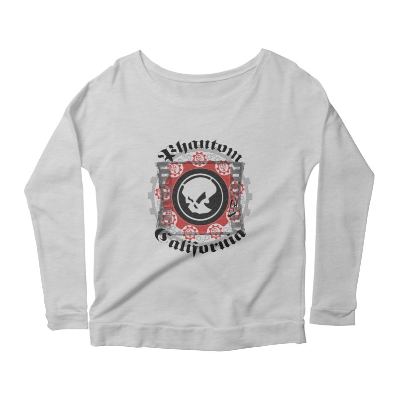 Phantom California LA (original) Women's Longsleeve Scoopneck  by phantom's Artist Shop