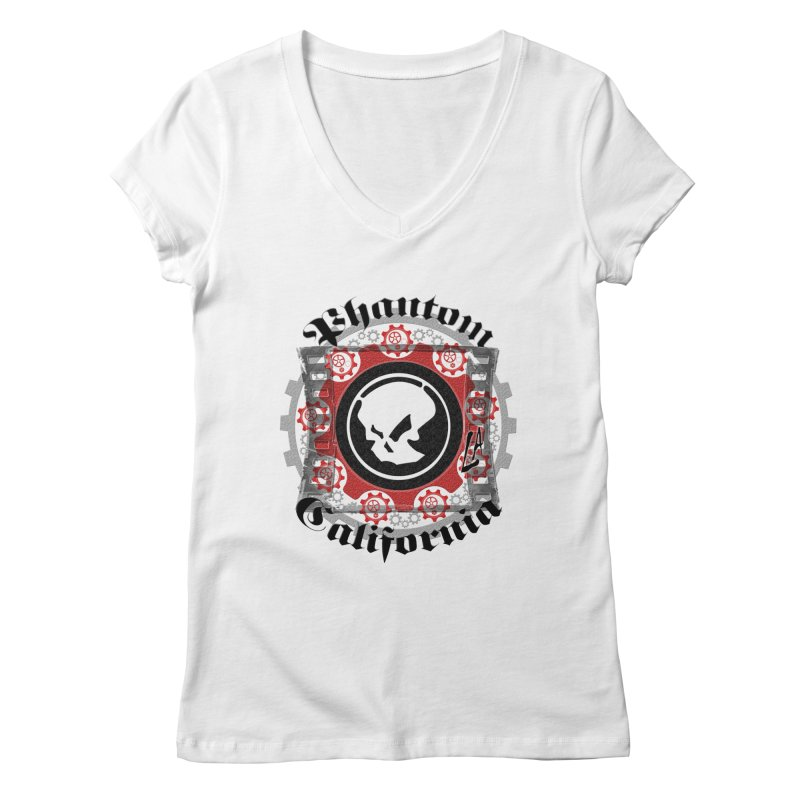 Phantom California LA (original) Women's Regular V-Neck by phantom's Artist Shop