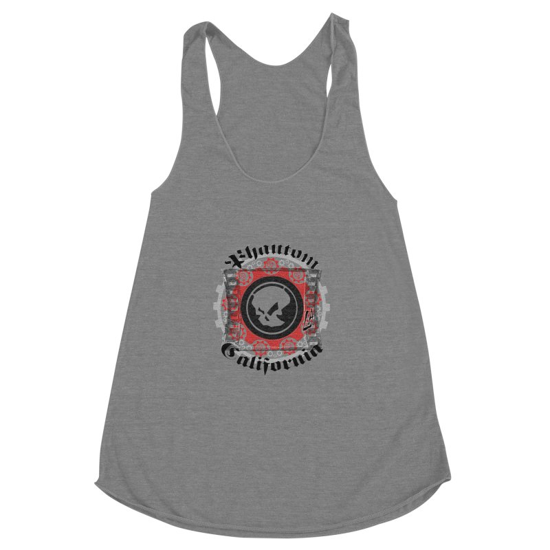 Phantom California LA (original) Women's Racerback Triblend Tank by phantom's Artist Shop