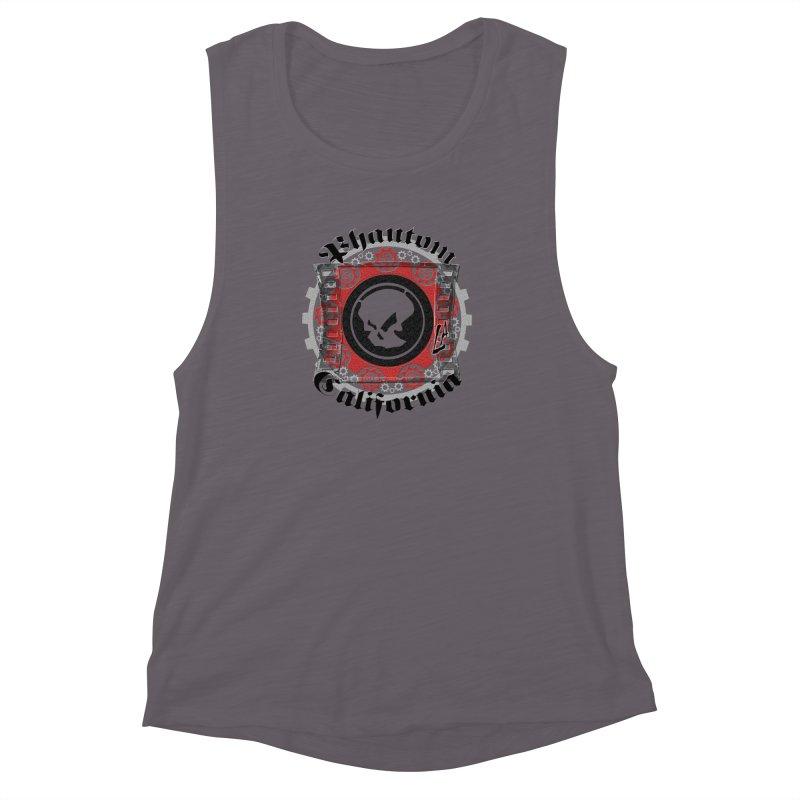 Phantom California LA (original) Women's Muscle Tank by phantom's Artist Shop