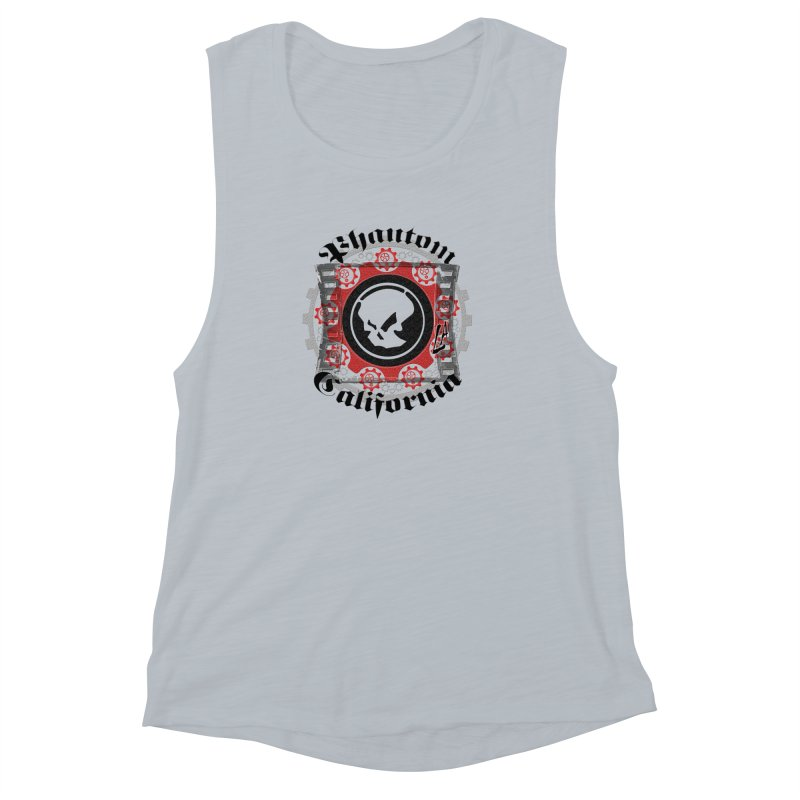 Phantom California LA (original) Women's Muscle Tank by phantom's Artist Shop
