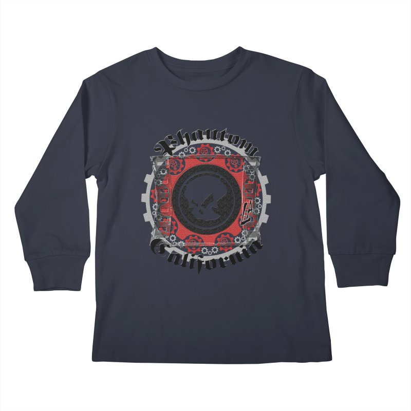 Phantom California LA (original) Kids Longsleeve T-Shirt by phantom's Artist Shop