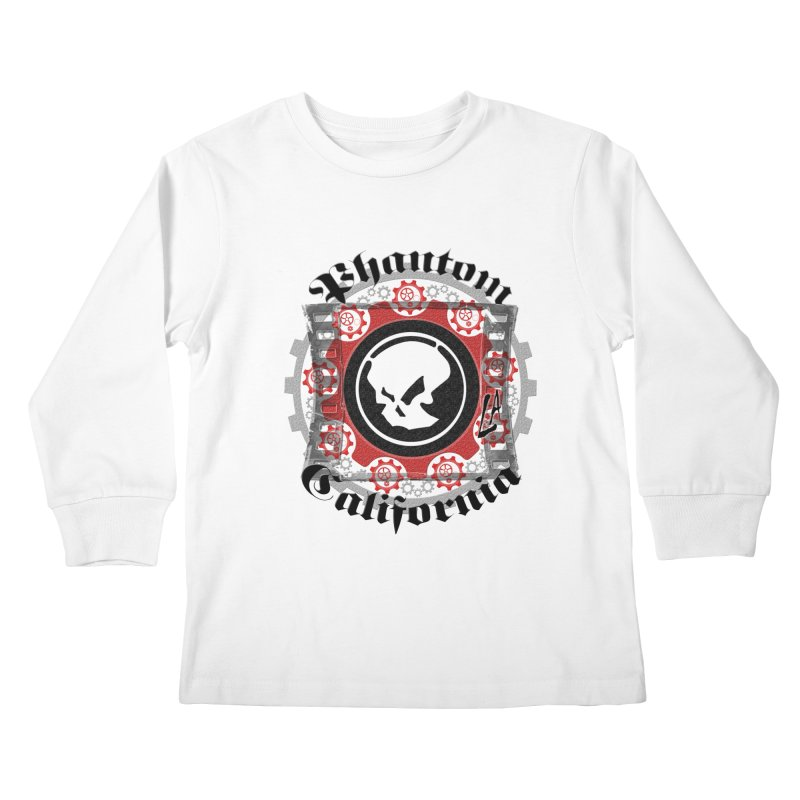 Phantom California LA (original) Kids Longsleeve T-Shirt by phantom's Artist Shop