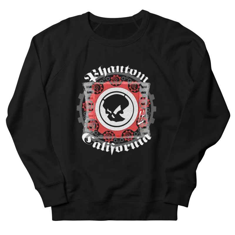 Phantom California LA (B/W) Men's Sweatshirt by phantom's Artist Shop