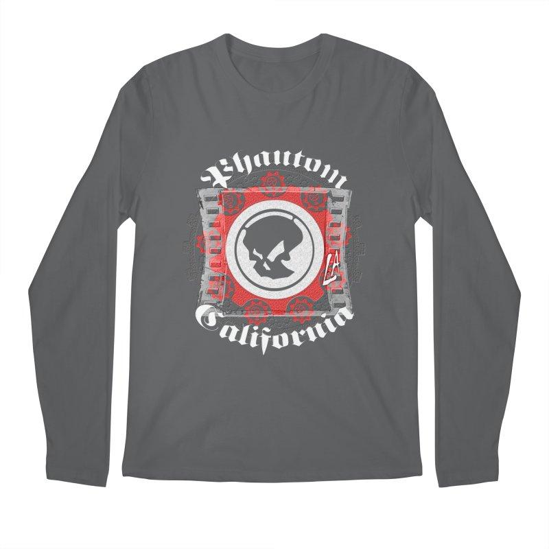 Phantom California LA (B/W) Men's Longsleeve T-Shirt by phantom's Artist Shop