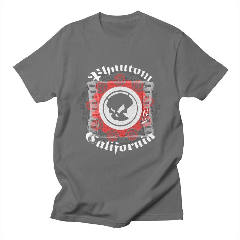 Phantom California LA (B/W) Men's Regular T-Shirt by phantom's Artist Shop