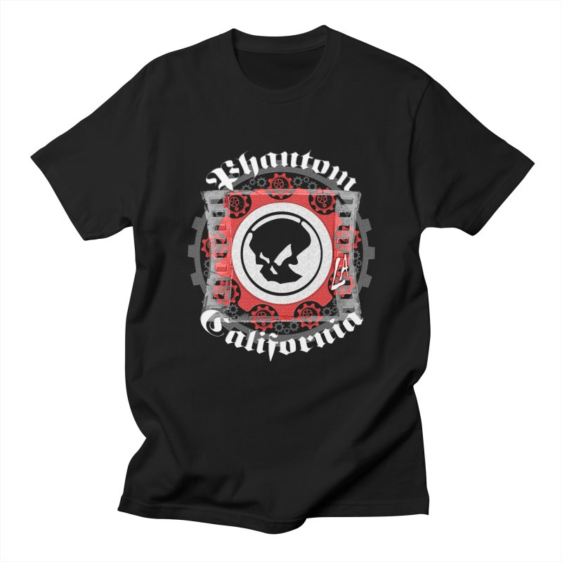 Phantom California LA (B/W) Men's Regular T-Shirt by phantom's Artist Shop