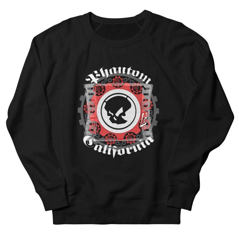 Phantom California LA (B/W) Men's French Terry Sweatshirt by phantom's Artist Shop