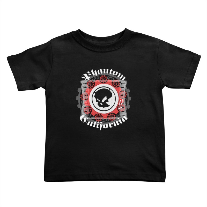 Phantom California LA (B/W) Kids Toddler T-Shirt by phantom's Artist Shop