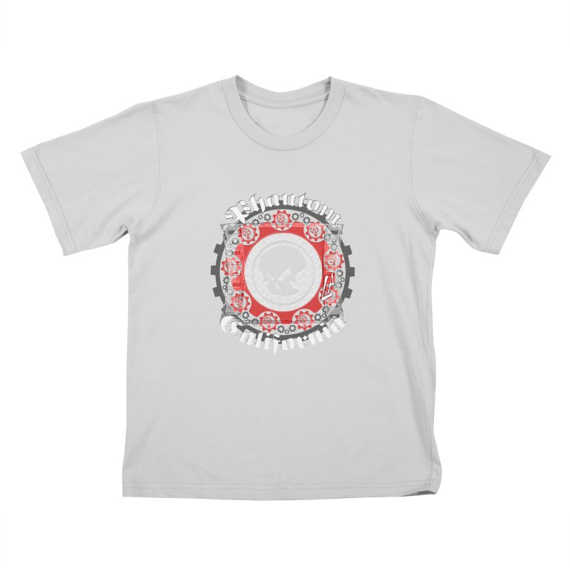 Phantom California LA (B/W) Kids Toddler T-Shirt by phantom's Artist Shop