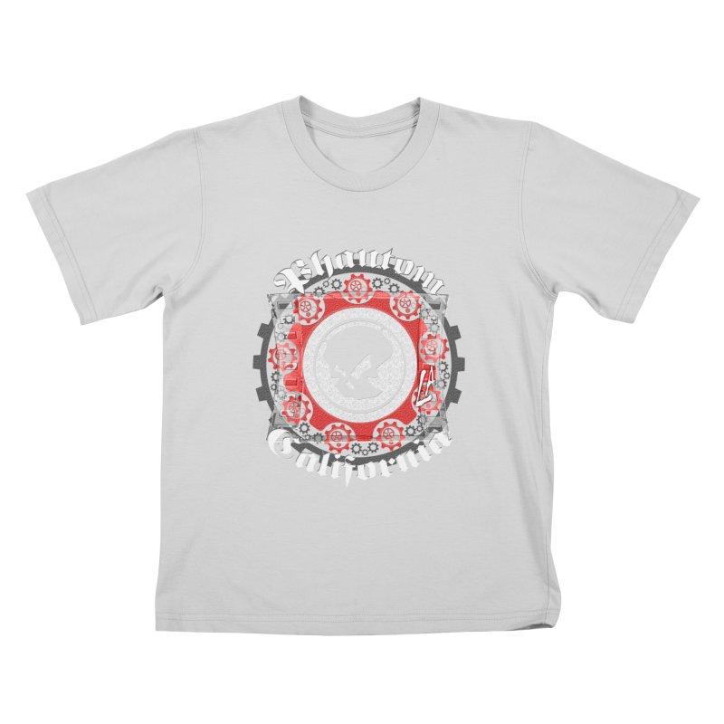 Phantom California LA (B/W) Kids T-Shirt by phantom's Artist Shop