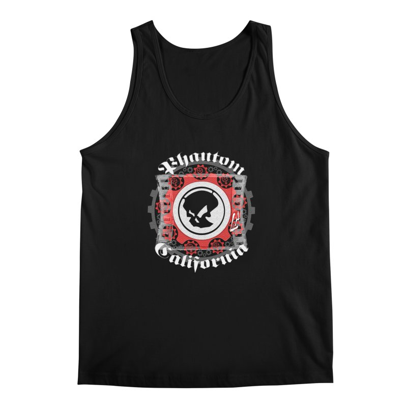 Phantom California LA (B/W) Men's Tank by phantom's Artist Shop