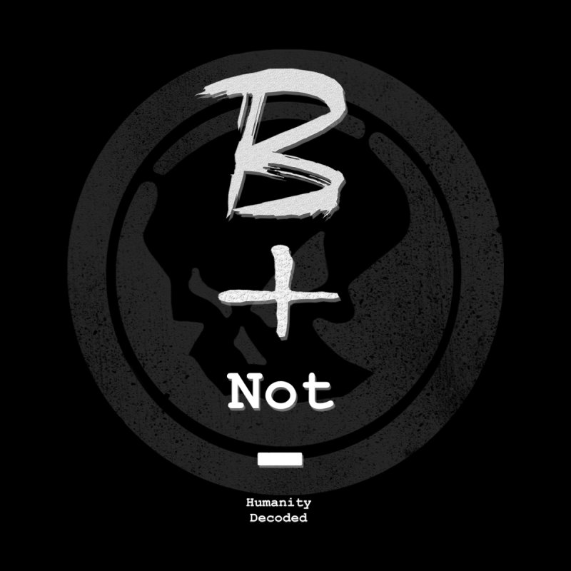 Phantom Be positive not negative W/B by phantom's Artist Shop
