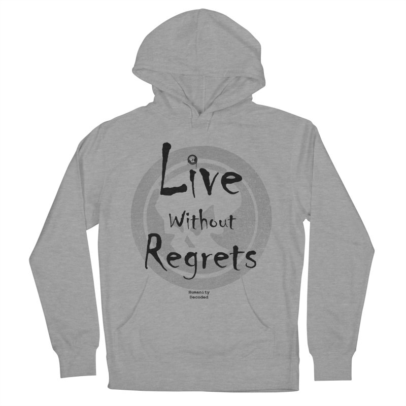 Phantom Live Without Regrets Men's French Terry Pullover Hoody by phantom's Artist Shop