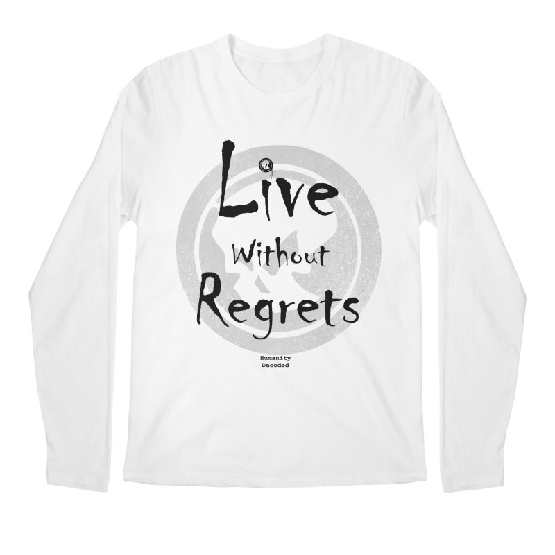 Phantom Live Without Regrets Men's Regular Longsleeve T-Shirt by phantom's Artist Shop