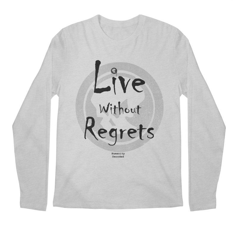 Phantom Live Without Regrets Men's Longsleeve T-Shirt by phantom's Artist Shop