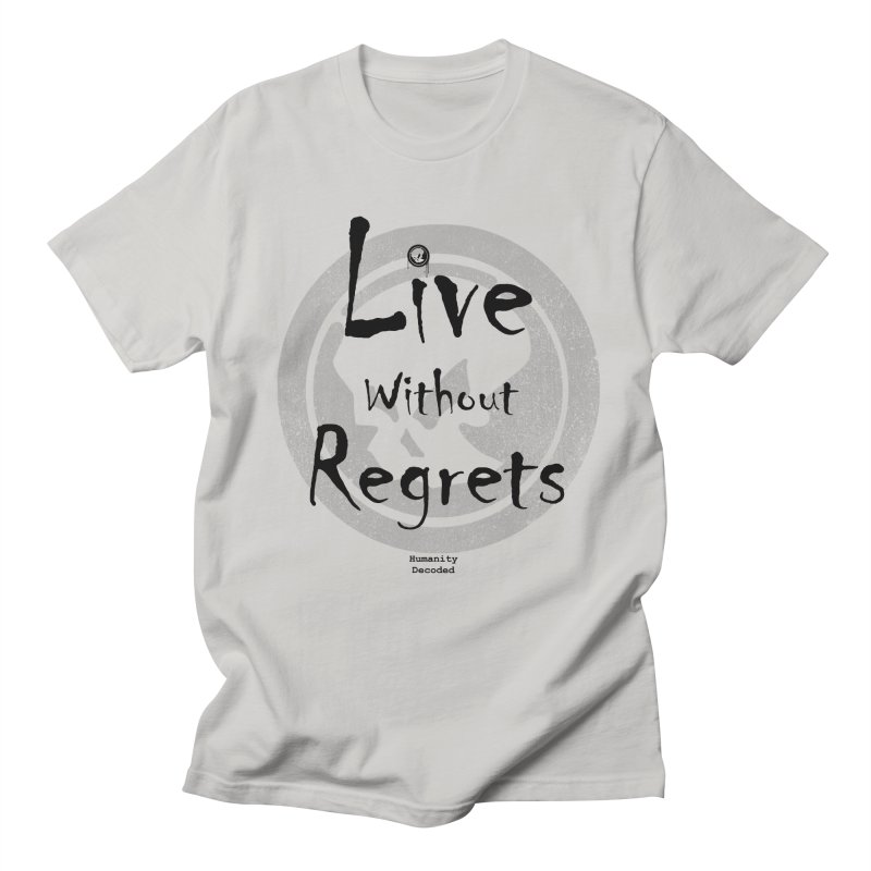 Phantom Live Without Regrets Men's T-Shirt by phantom's Artist Shop