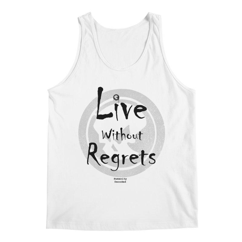 Phantom Live Without Regrets Men's Regular Tank by phantom's Artist Shop