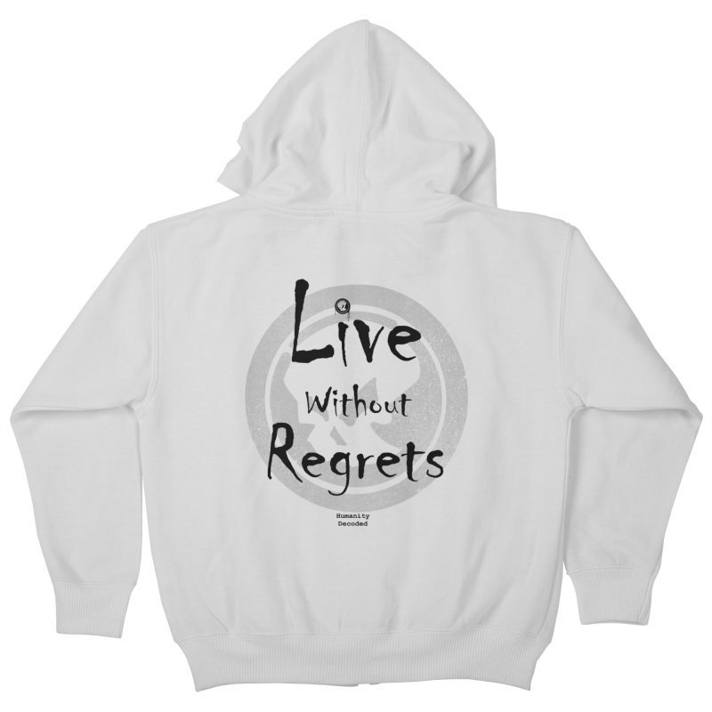 Phantom Live Without Regrets Kids Zip-Up Hoody by phantom's Artist Shop