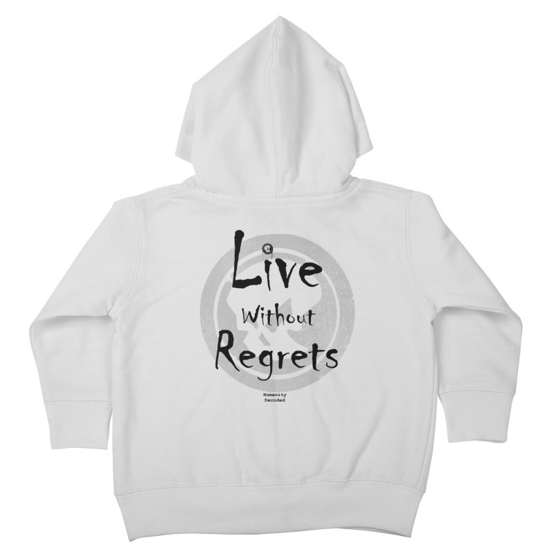 Phantom Live Without Regrets Kids Toddler Zip-Up Hoody by phantom's Artist Shop