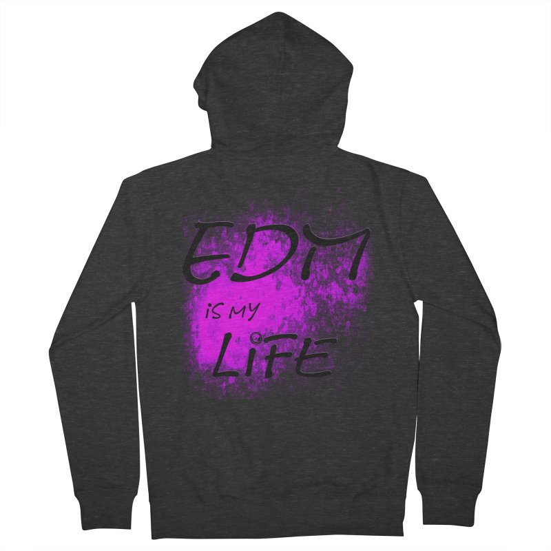 Phantom EDM is my Life Women's Zip-Up Hoody by phantom's Artist Shop