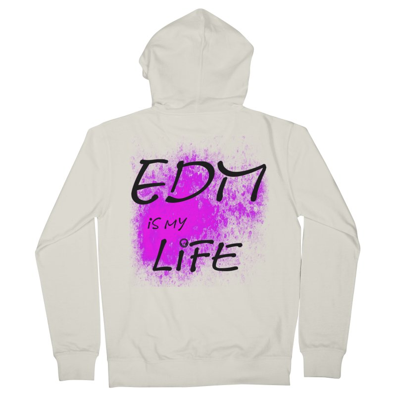 Phantom EDM is my Life Women's Zip-Up Hoody by phantom's Artist Shop