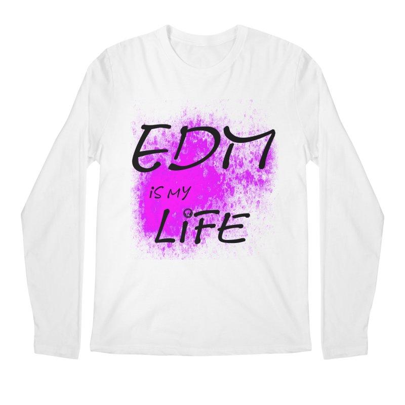 Phantom EDM is my Life Men's Longsleeve T-Shirt by phantom's Artist Shop