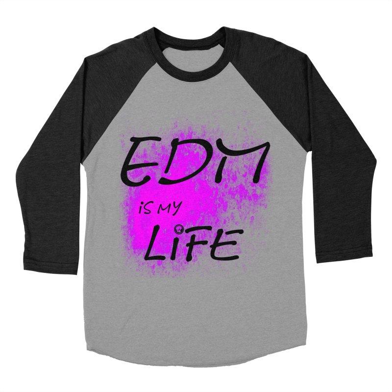 Phantom EDM is my Life Women's Baseball Triblend Longsleeve T-Shirt by phantom's Artist Shop