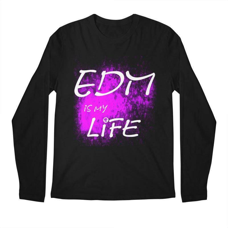 Phantom EDM is my Life W/B Men's Longsleeve T-Shirt by phantom's Artist Shop