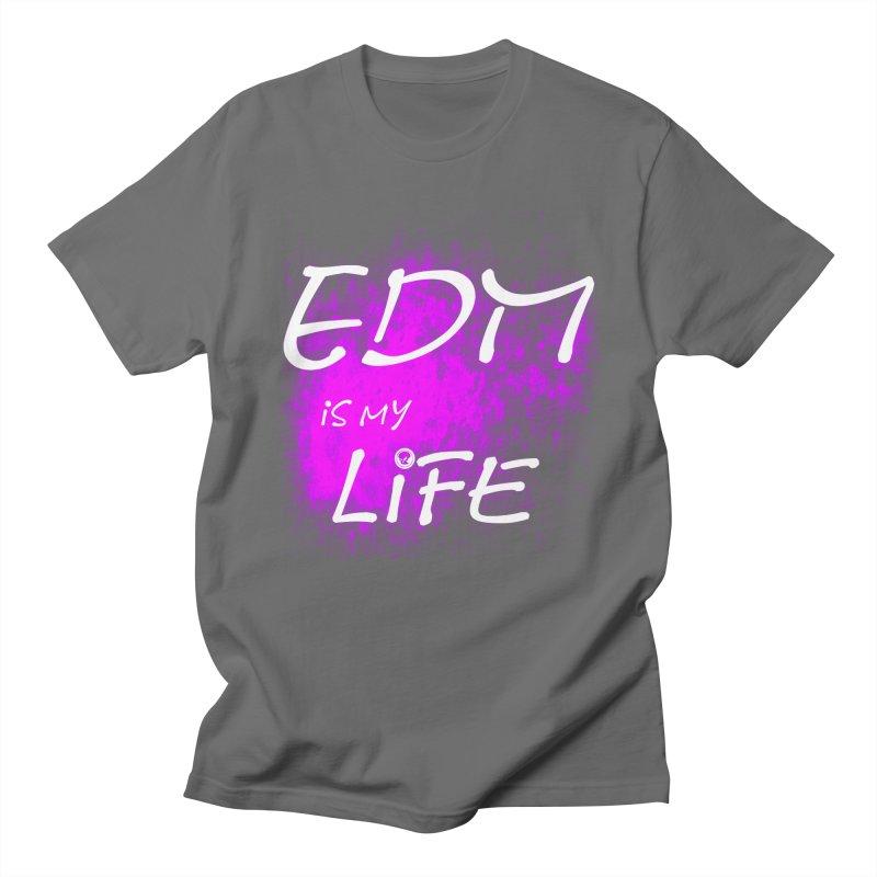 Phantom EDM is my Life W/B Men's T-Shirt by phantom's Artist Shop