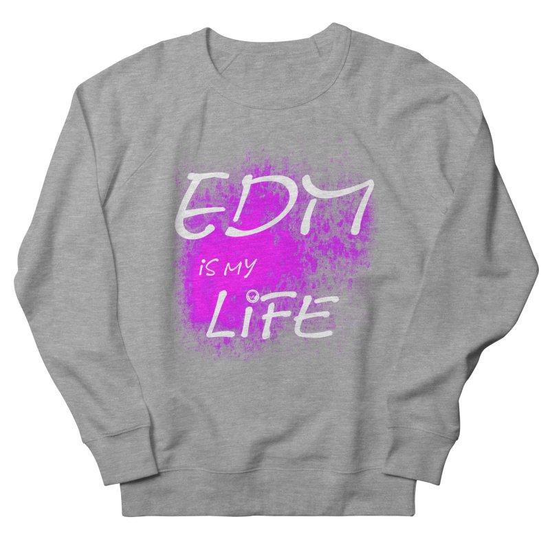 Phantom EDM is my Life W/B Men's Sweatshirt by phantom's Artist Shop