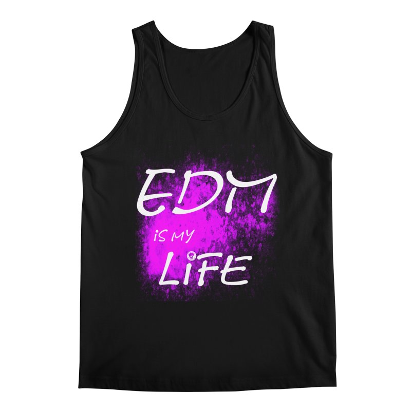 Phantom EDM is my Life W/B Men's Regular Tank by phantom's Artist Shop