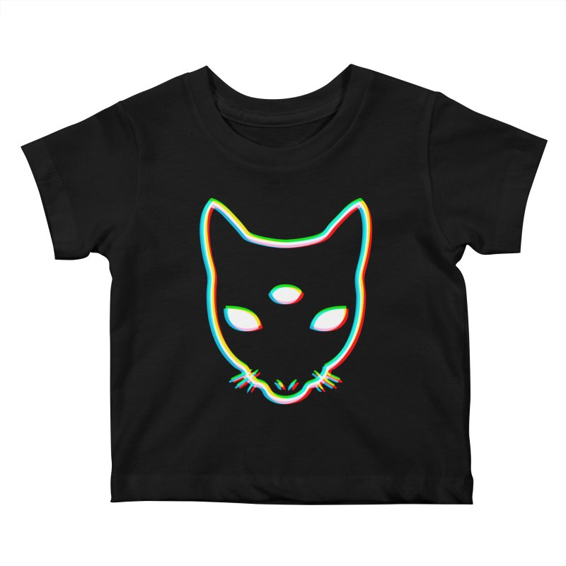 MASTER PACO PRISM Kids Baby T-Shirt by Phantom Wave