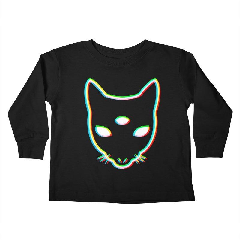 MASTER PACO PRISM Kids Toddler Longsleeve T-Shirt by Phantom Wave