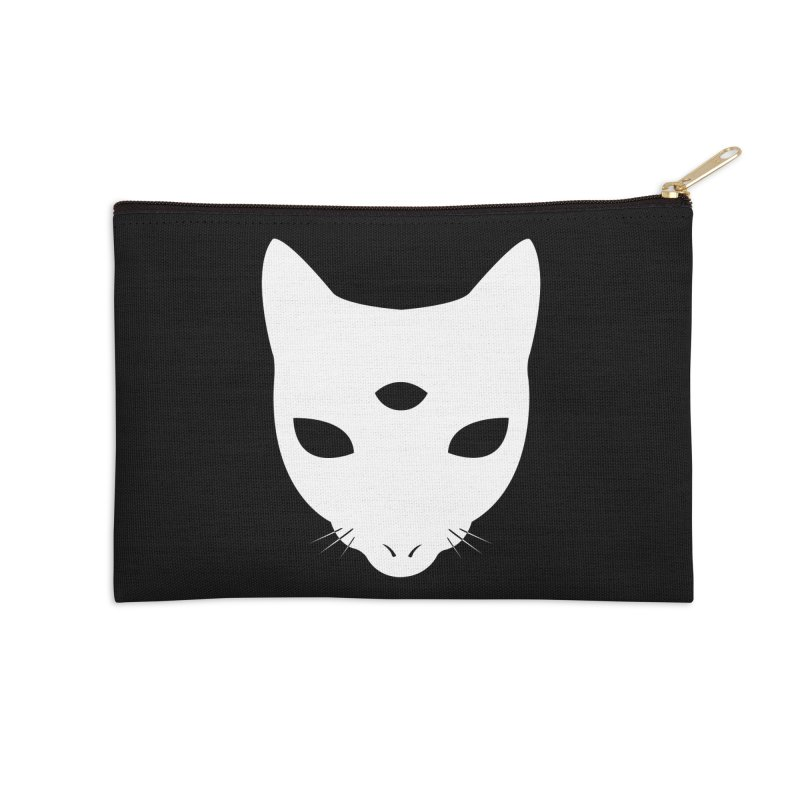 MASTER PACO SKULL Accessories Zip Pouch by Phantom Wave