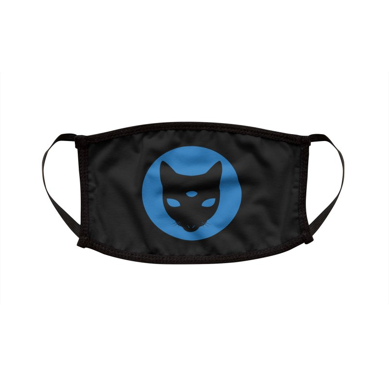 MASTER PACO BLUE Accessories Face Mask by Phantom Wave