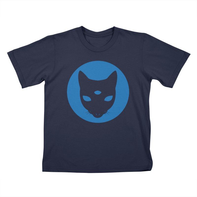 MASTER PACO BLUE Kids T-Shirt by Phantom Wave