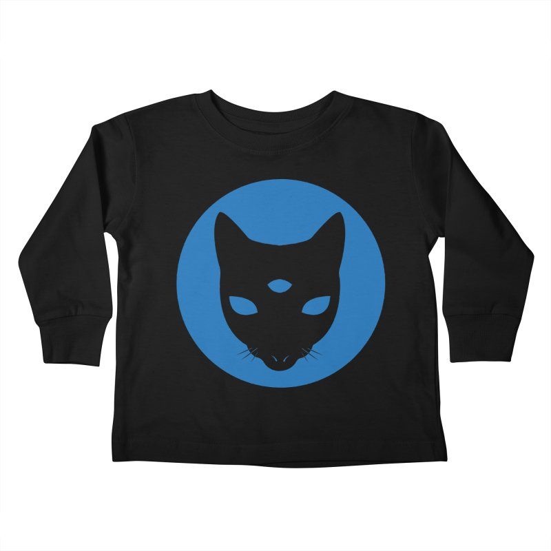 MASTER PACO BLUE Kids Toddler Longsleeve T-Shirt by Phantom Wave