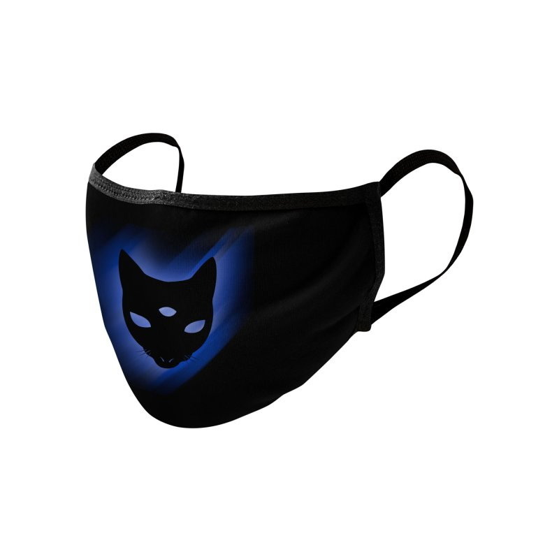 MASTER PACO WAVE Accessories Face Mask by Phantom Wave