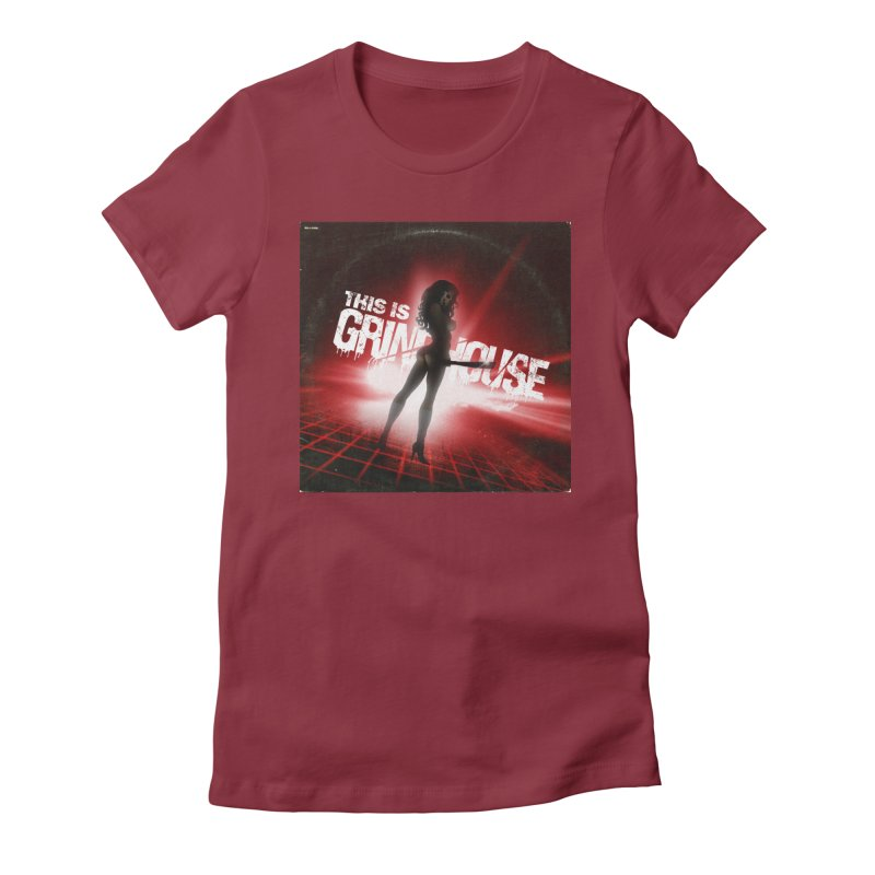 WRYE - THIS IS GRINDHOUSE Women's T-Shirt by Phantom Wave