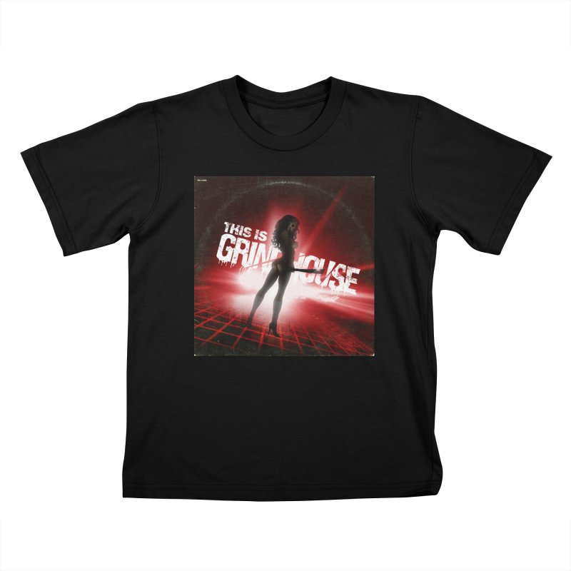 WRYE - THIS IS GRINDHOUSE Kids T-Shirt by Phantom Wave