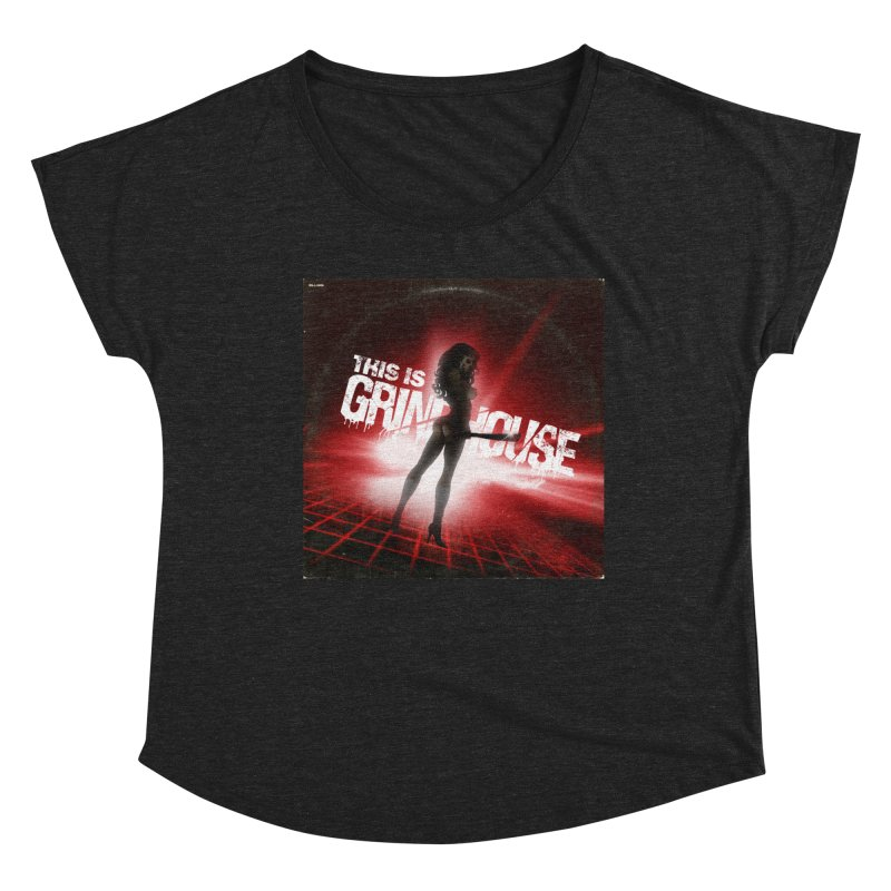 WRYE - THIS IS GRINDHOUSE Women's Scoop Neck by Phantom Wave